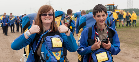 The latest images from the 22nd World Scout Jamboree in Sweden