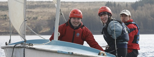 Hawkhirst Kielder Water Activity Academy sailing